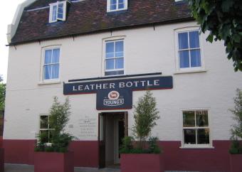 Leather Bottle