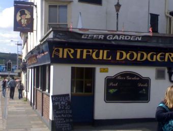 The artful dodger house exeter