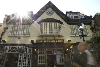 Red Lion and Sun