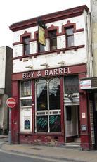 Boy and Barrel