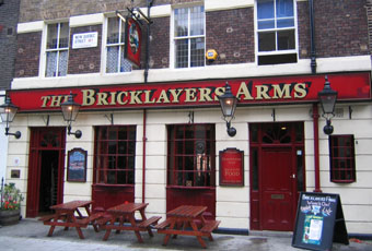 Bricklayer S Arms Marble Arch London W1h 7dd Pub