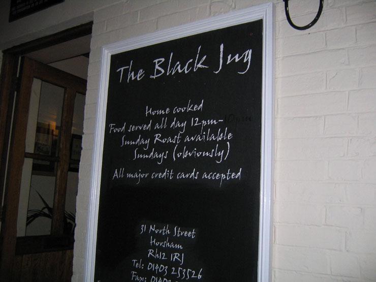 Black Jug Horsham Dogs