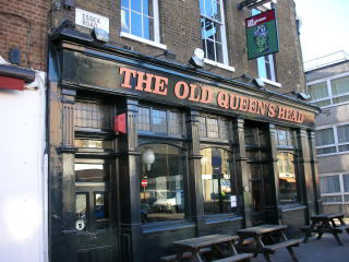 Old Queens Head Islington London N1 8ln Pub Details