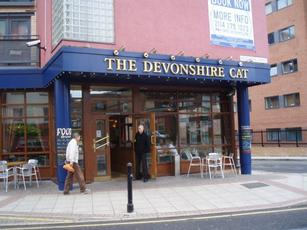 Devonshire Cat - not far from Bramall Lane