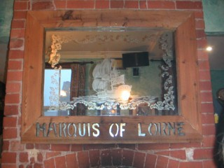Marquis Of Lorne