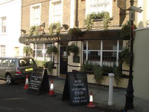 Fox and pheasant fulham london sw10 9uj pub details for The pheasant pub london